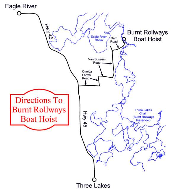 Map to Boat Hoist